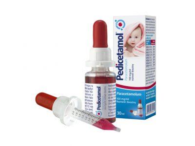 Pedicetamol 30 ml z kroplomierzem