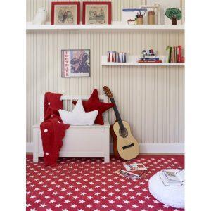 Lorena Canals dywan akrylowy Estrellitas Red